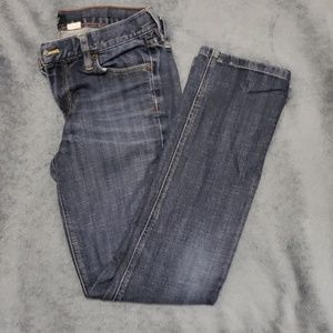 JCrew Factory Blue Straight Leg Jean's 29